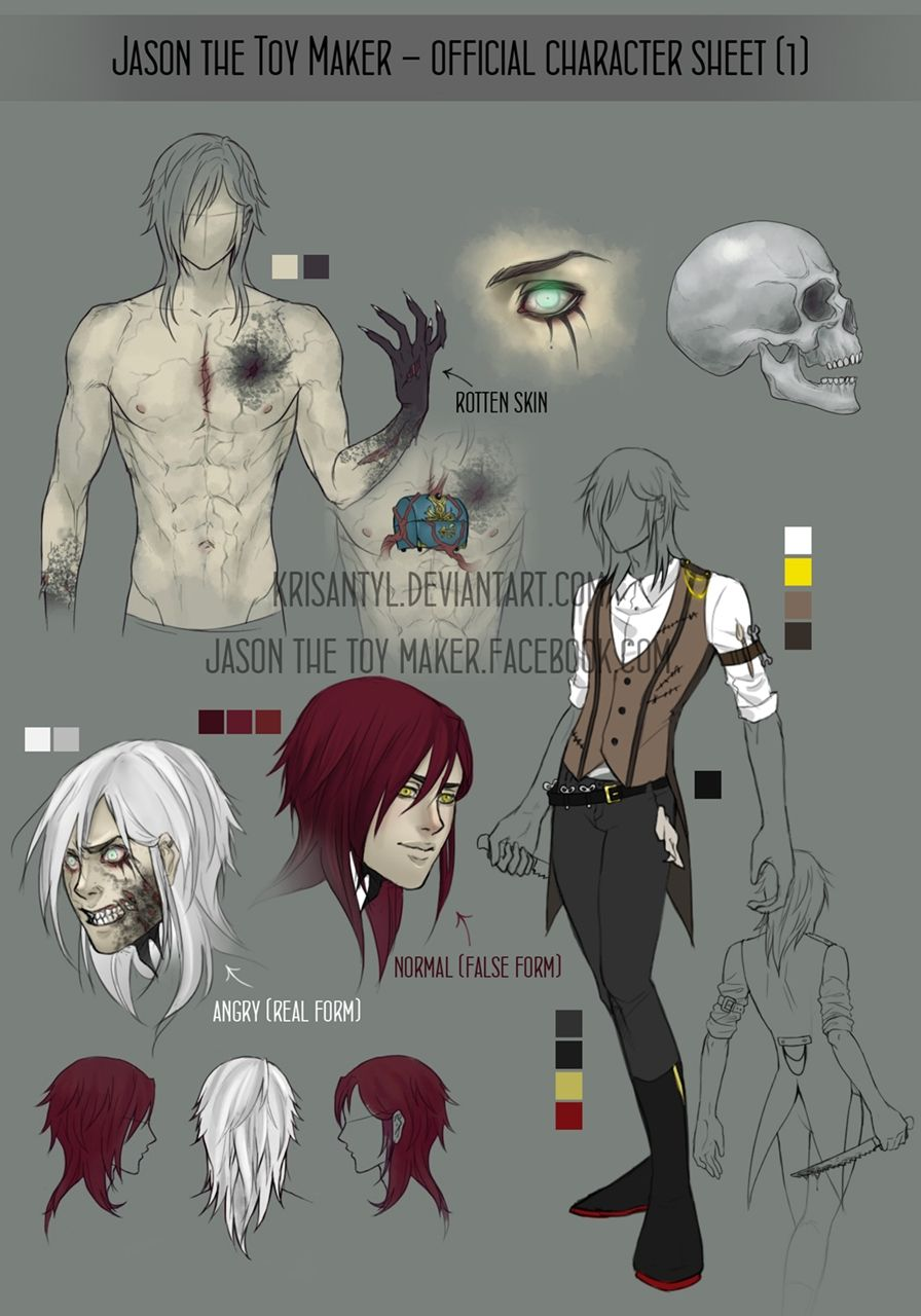 jason the toy maker official character sheet creepypasta