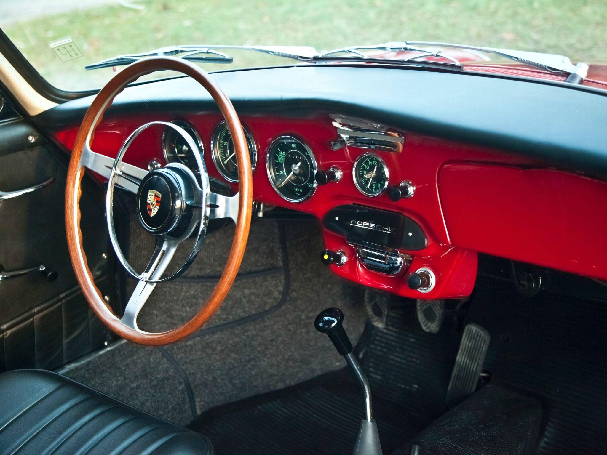 1963–65 Porsche 356 SC Coupe dashboard | Porsche | Pinterest ...