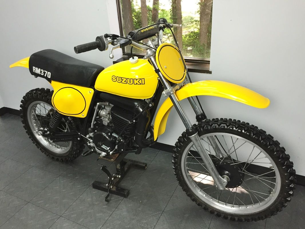 1976 Suzuki RM370 - East Coast Vintage MX | 2 strokers | Pinterest