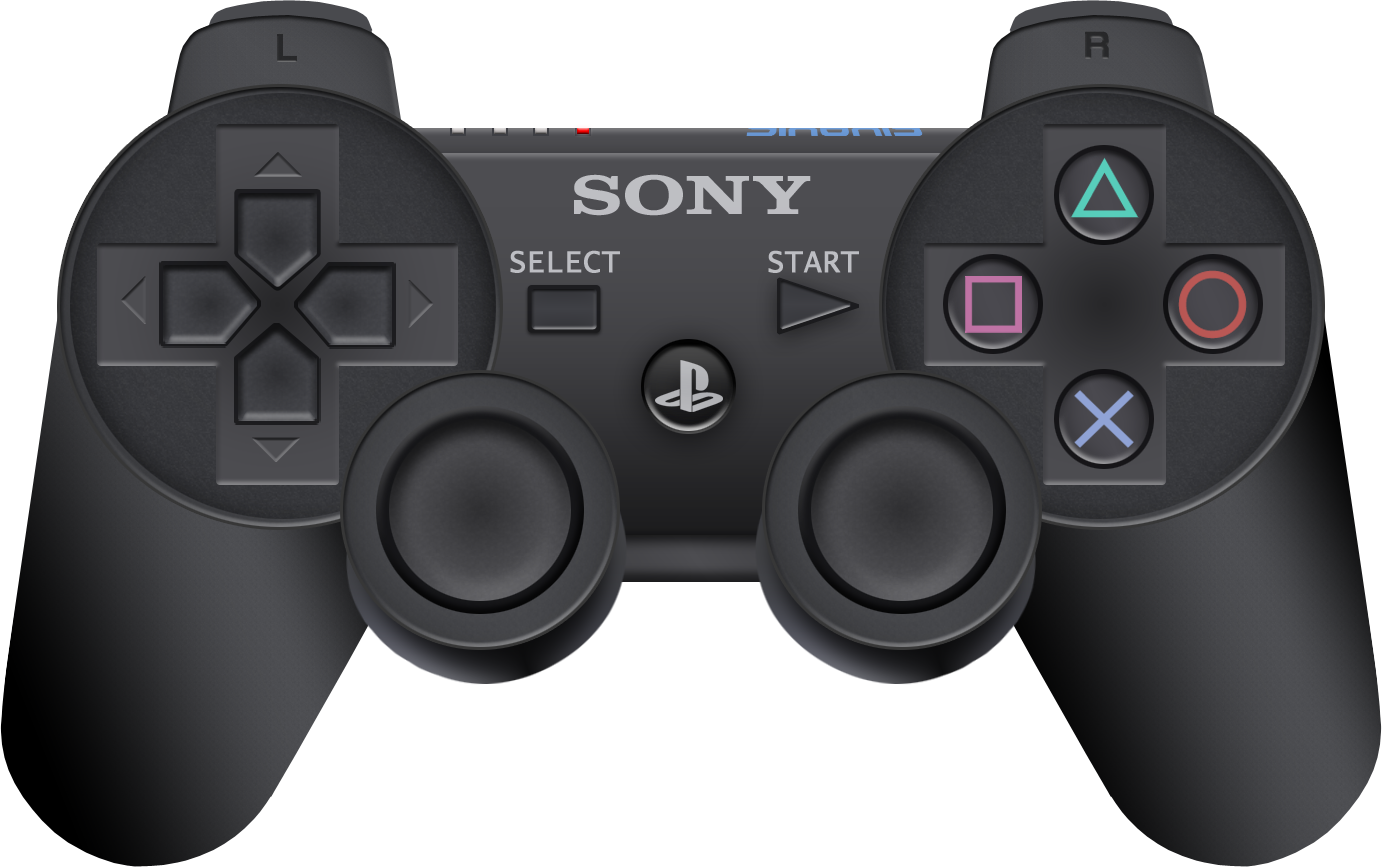 Modelling A Playstation 3 Controller Playstation Controller Dualshock Ps3 Controller