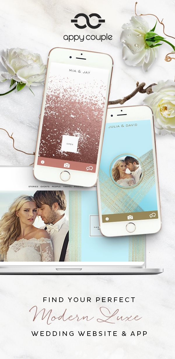 Wedding website and app. What's your wedding style? Find it on Appy Couple... | Wedding website ...