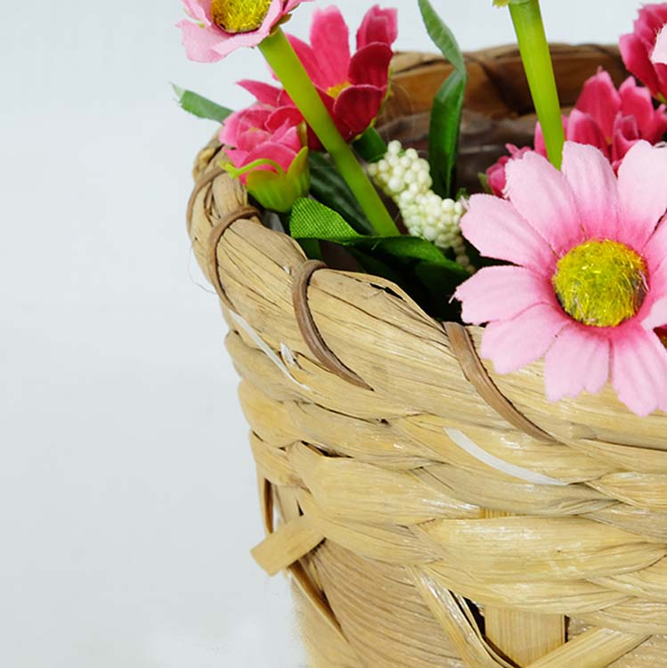 Renel Handicraft Straw Material Flower Storage Basket Buy Flower