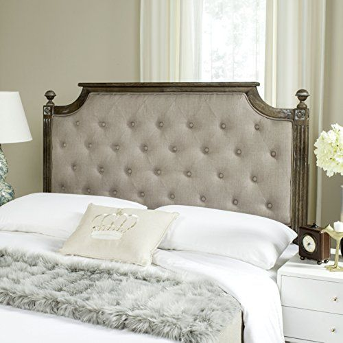 Regal Style Rustic Wood Tufted Headboard, Contemporary ...