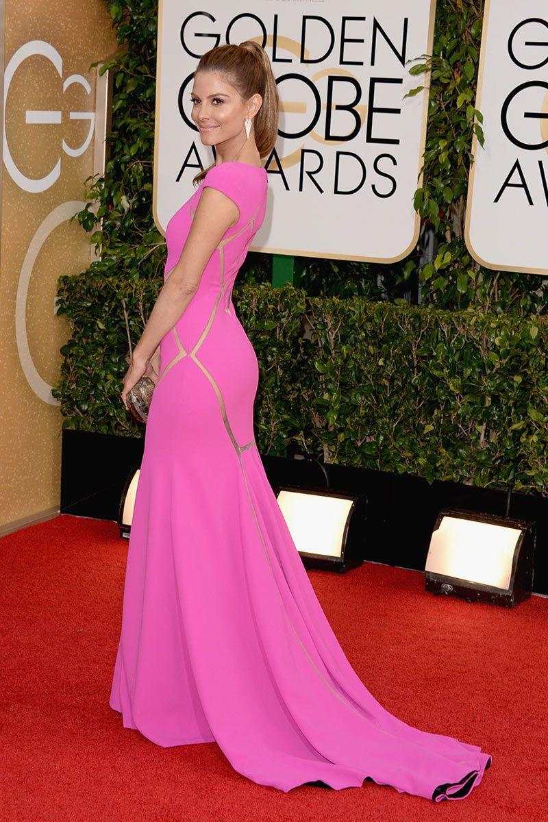 Red Carpet/ Globos de Oro 2014 | Maria menounos, El globo y El rojo