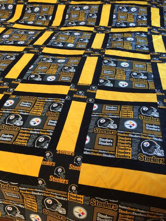 Pittsburgh Steelers Quilt Quilts Sports Quilts