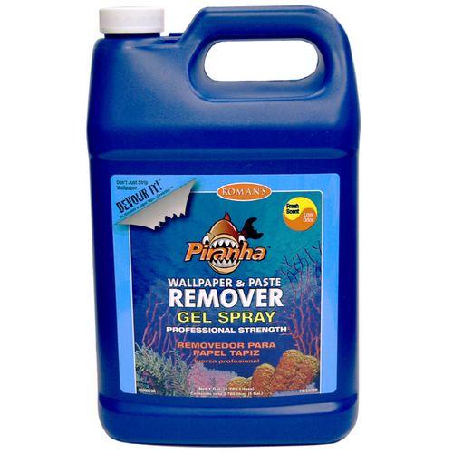 Piranha 1 Gallon Gel Wallpaper Remover Spray