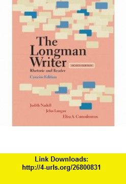 Longman Writer The Concise Edition Rhetoric And Reader 8th