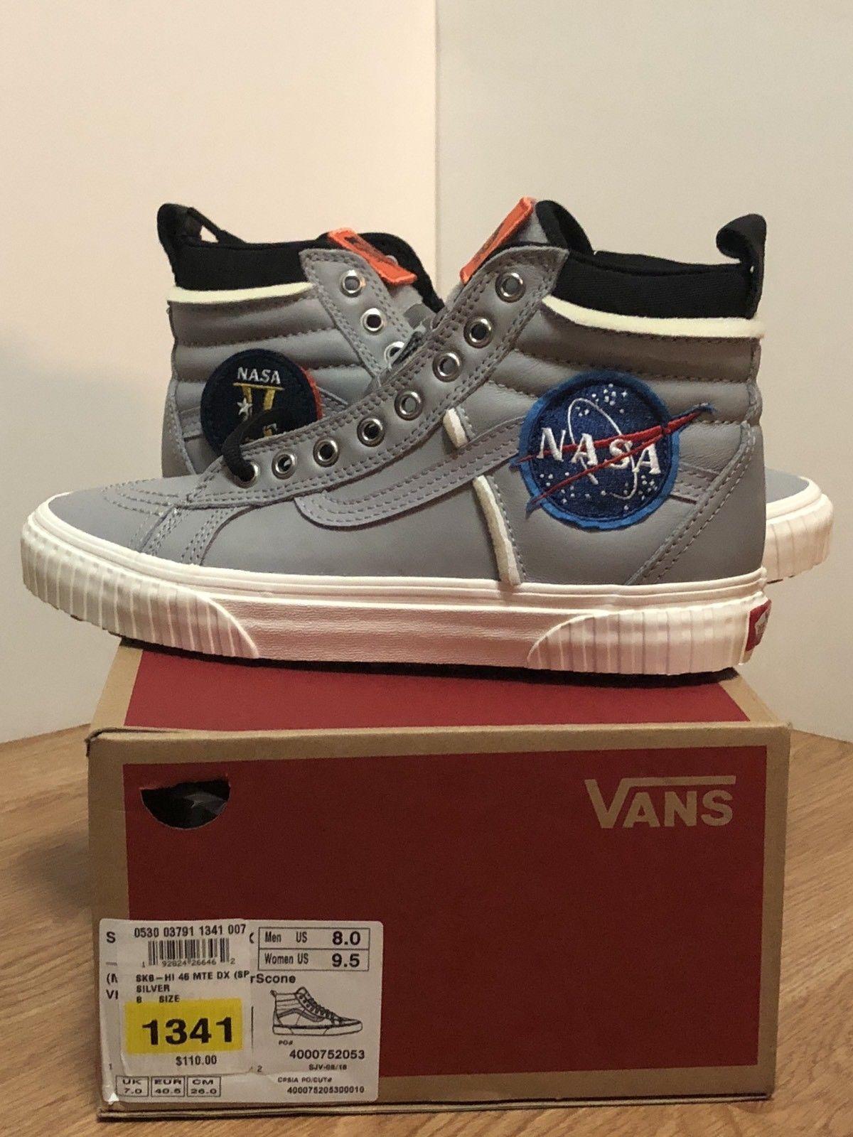 Details about Vans x NASA Space Voyager Old Skool SK8-HI 46 MTE DX ... 66991cdbe