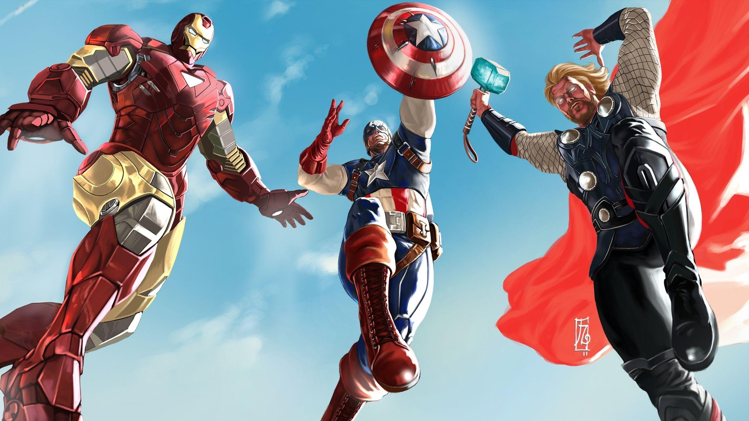 Art The Avengers Wallpaper
