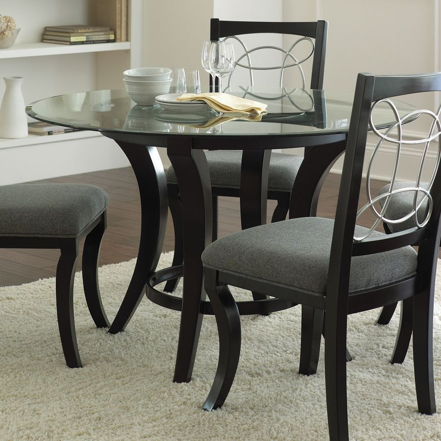 Shop Steve Silver Company Cayman Black Round Dining Table
