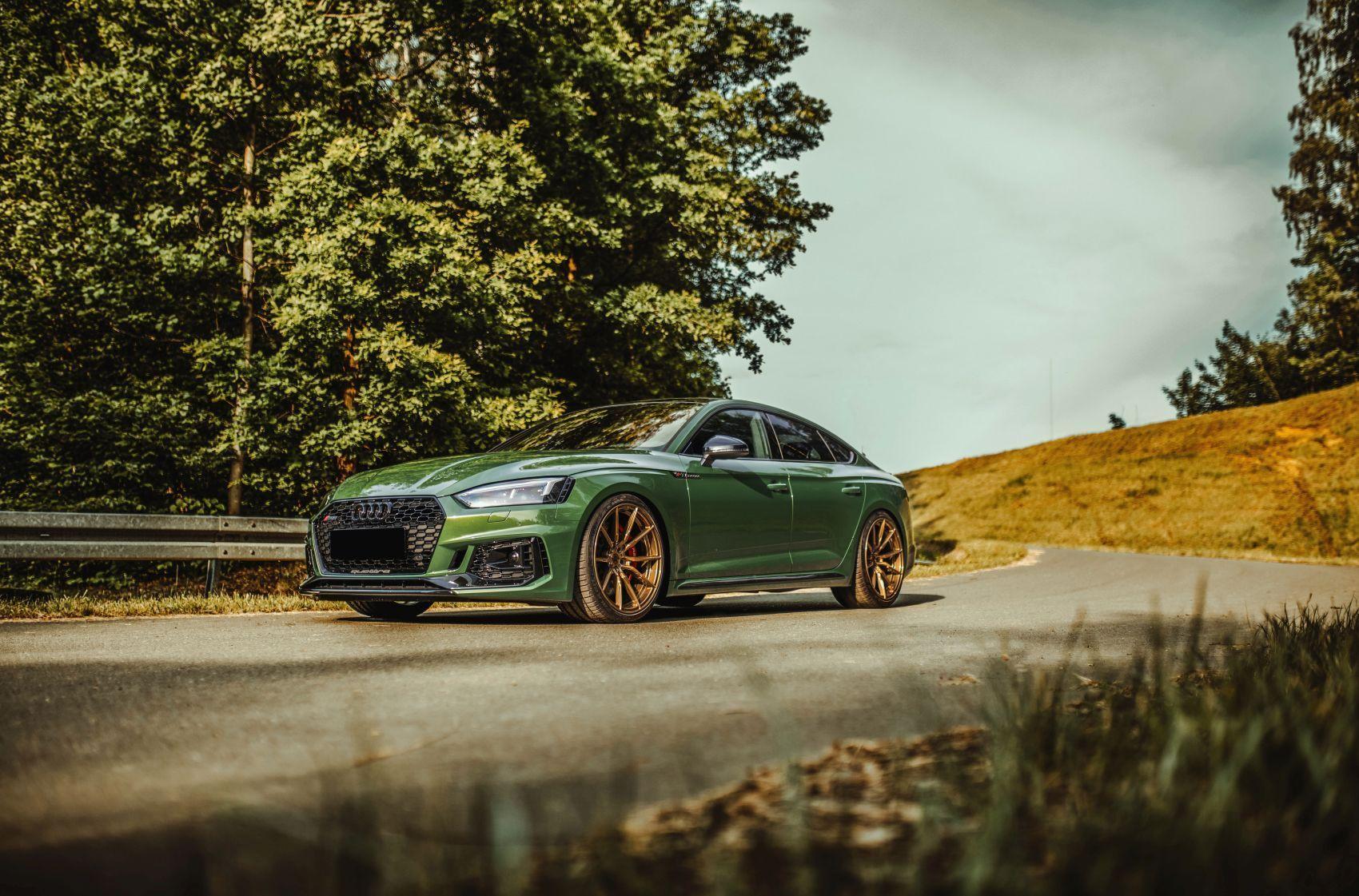 B9 Rs5 With Bronze Concaver Aftermarket Wheels Bronze Wheels Audi Audi Rs5