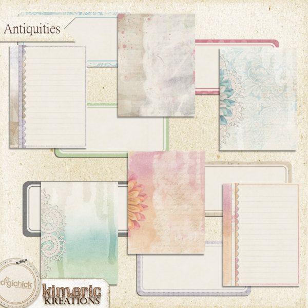 Antiquities (journal pack)