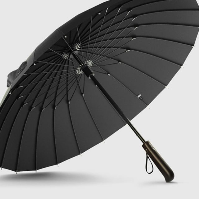 24K Glassfiber Strong Handle Large Umbrella | 4Colordress