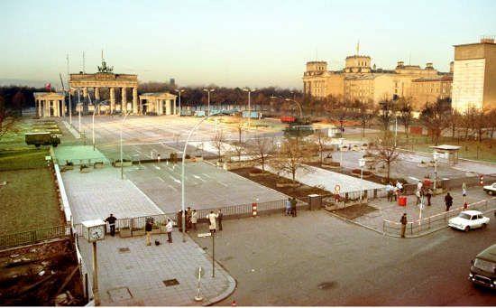 Brandenburger Tor Berlin Berlin Wall Brandenburg Gate East Berlin