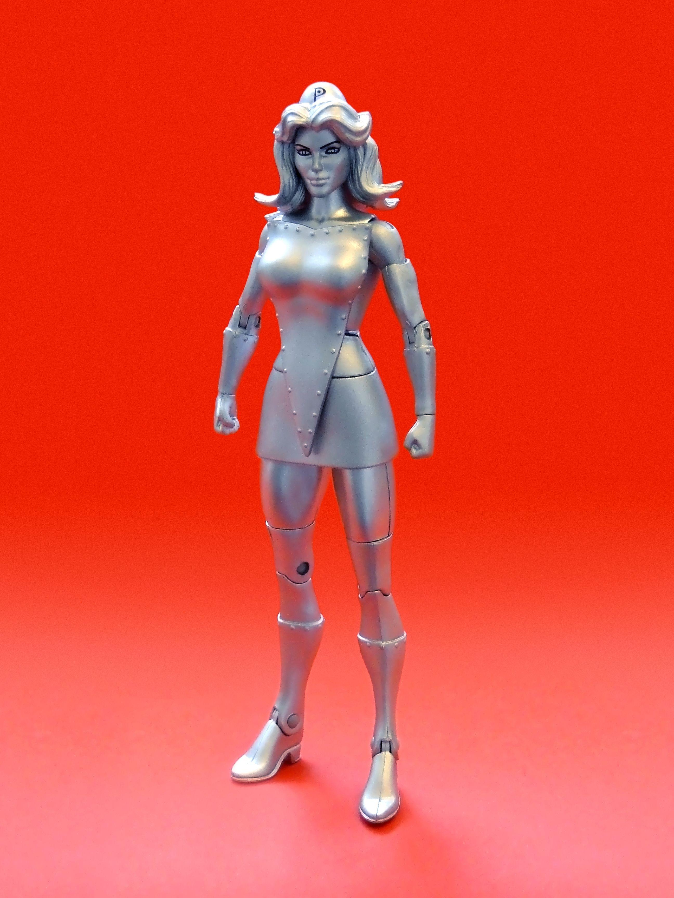 Mattel Dc Universe Metal Men Figure Platinum
