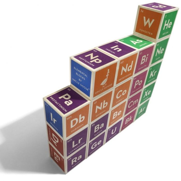 Make learning the periodic table fun and easy with this set of make learning the periodic table fun and easy with this set of educational colored building blocks urtaz Images