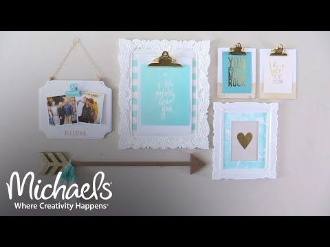 heidi swapp gallery wall overview all about framing michaels youtube