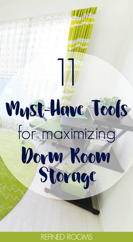 11 Organizing Tools for Maximizing Dorm Room Storage images
