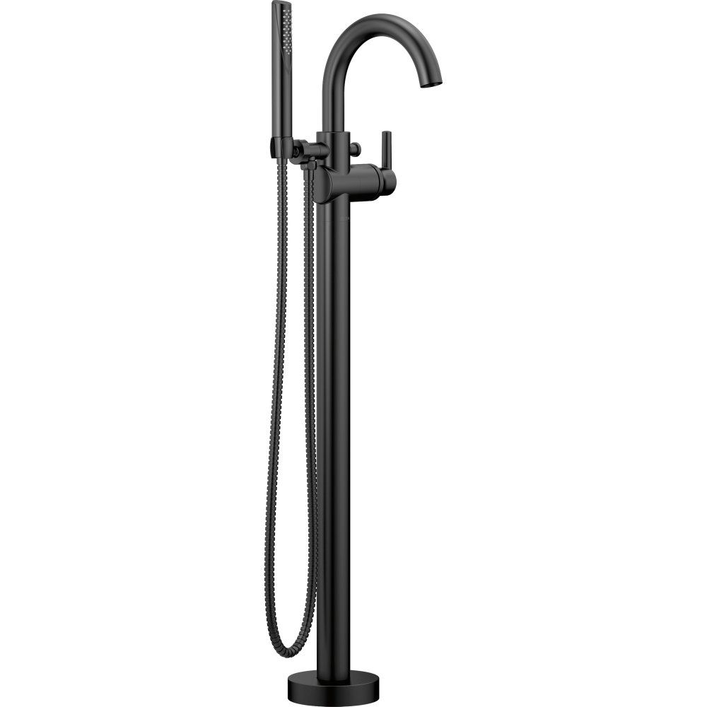 Delta Faucet T4759 Blfl Trinsic Matte Black Freestanding Tub Only