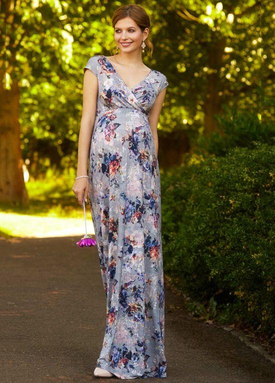 Tiffany Rose Alana Maxi Dress In Vintage Bloom Maternity Style