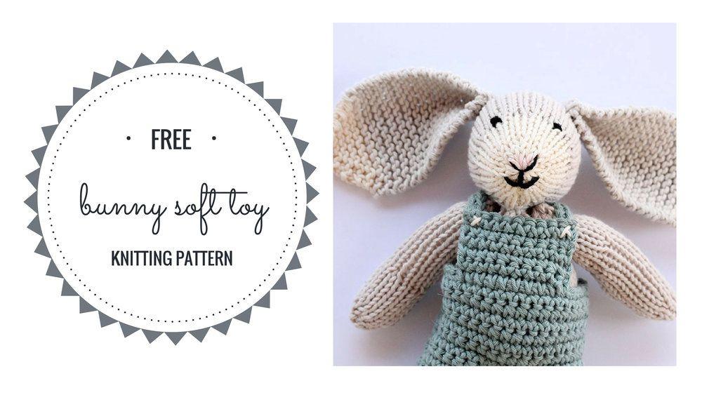Bunny Knitting Pattern | Baby knitting patterns, Knitting ...