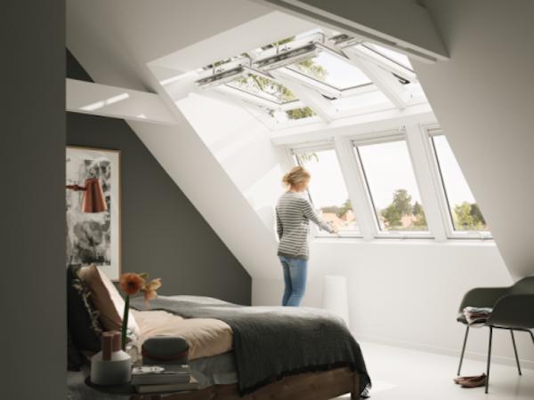 Velux dakraam slaapkamer daglichtsystemen velux inspiration