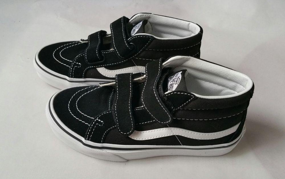 black velcro vans kids
