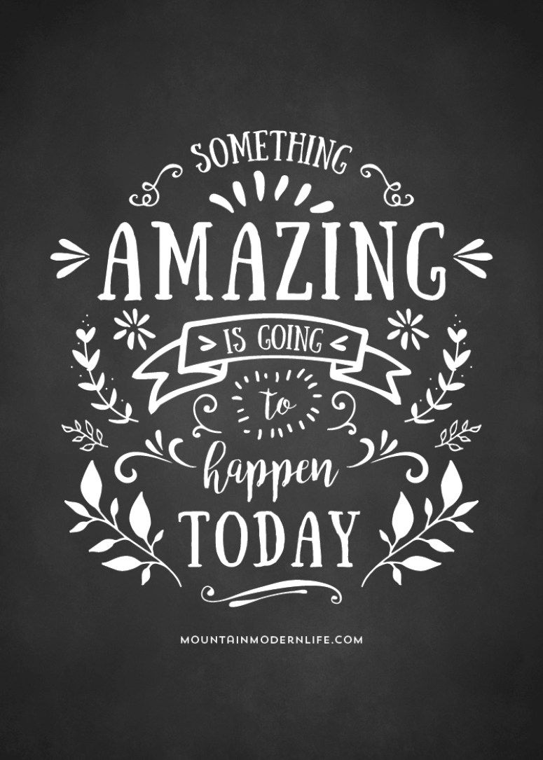 Something Amazing is Going to Happen Today  Today quotes, Quotes