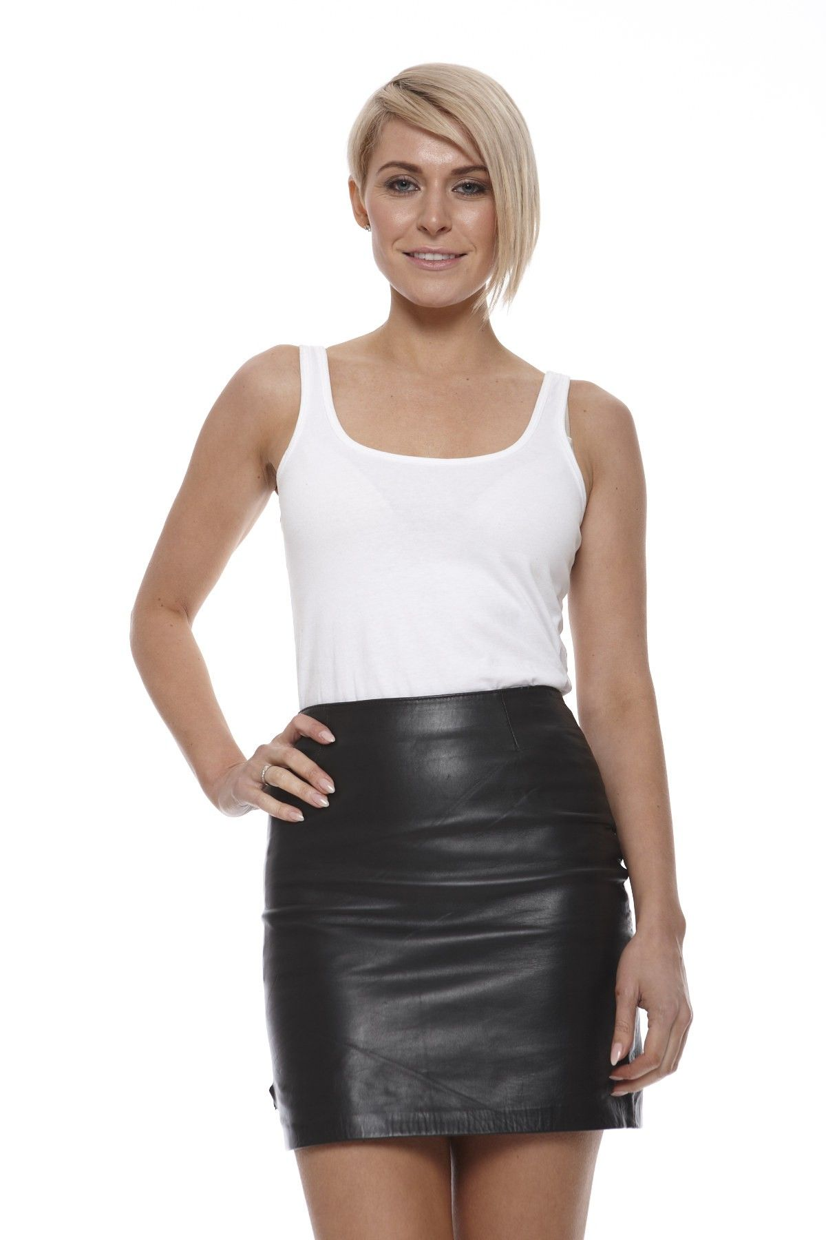 women-leather-skirt-short-leather-skirt | Leather Skirt ...