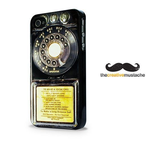 Custom iPhone 4 Case iPhone 5 Case  VINTAGE by CreativeMustache, $16.99