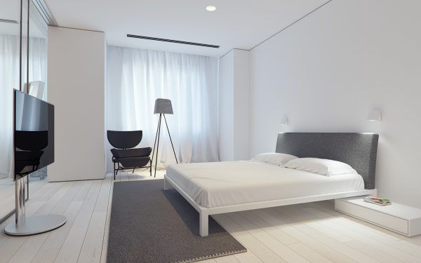 3 White Themed Homes With Striking Modern Minimalist Aesthetics