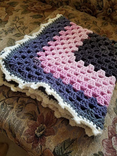Easy] Granny Square – Baby Boom Baby Blanket! Free Crochet Pattern ...