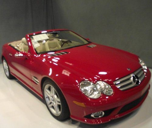 Exact Cherry Red Mercedes Benz Sl Class With Images Car