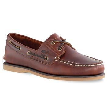 Timberland Heritage 2 Eye Boat Chaussures Bateau Homme Brun