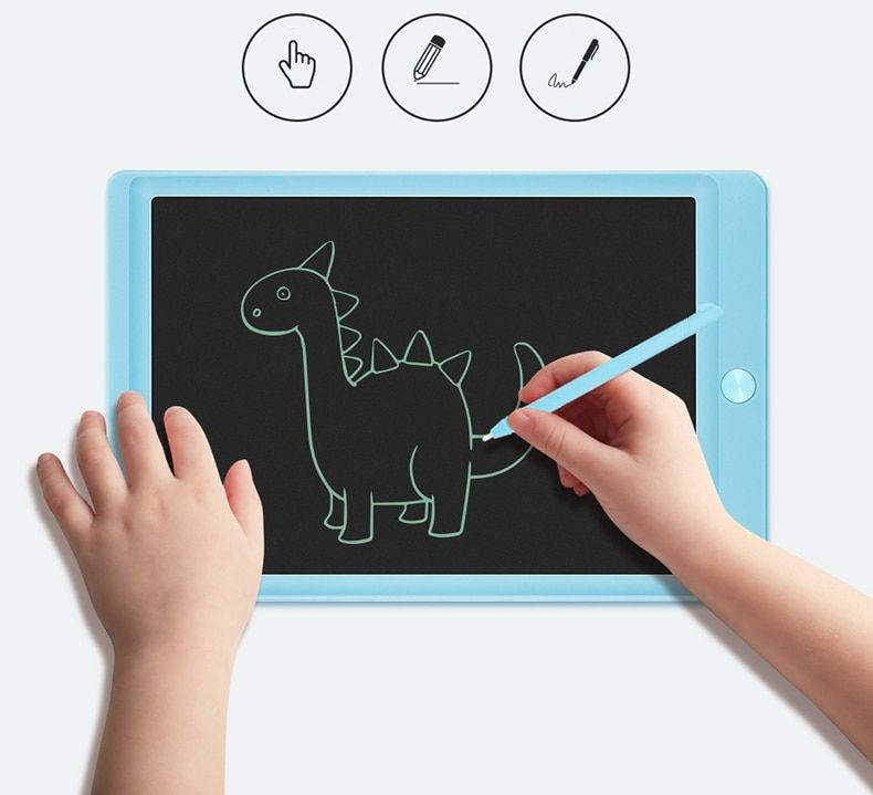 Lcd Writing Tablet 10 Inch Digital Drawing Electronic Handwriting Pad Message Graphics Board Kids W Electronic Sketch Pad Digital Drawing Tablet Drawing Tablet