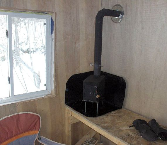 Tiny Simple House Is Off The Back Burner: Ammo Box Wood Stove ***FREE US SHIPPING In 2019