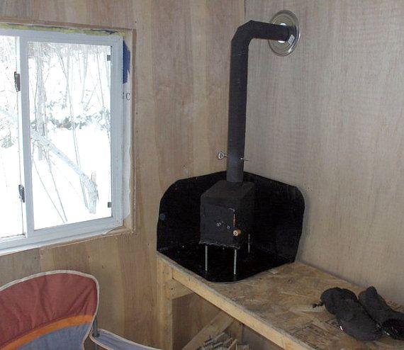 Small Ammo Box Wood Stove Ammo Box Wood Stove Heat Shield Tiny Wood Stove