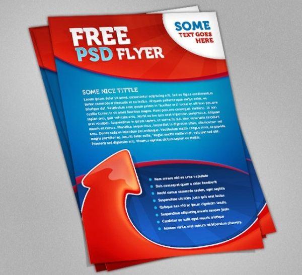 Brosur Flyer Template Gratis Download Psd Flyer Template