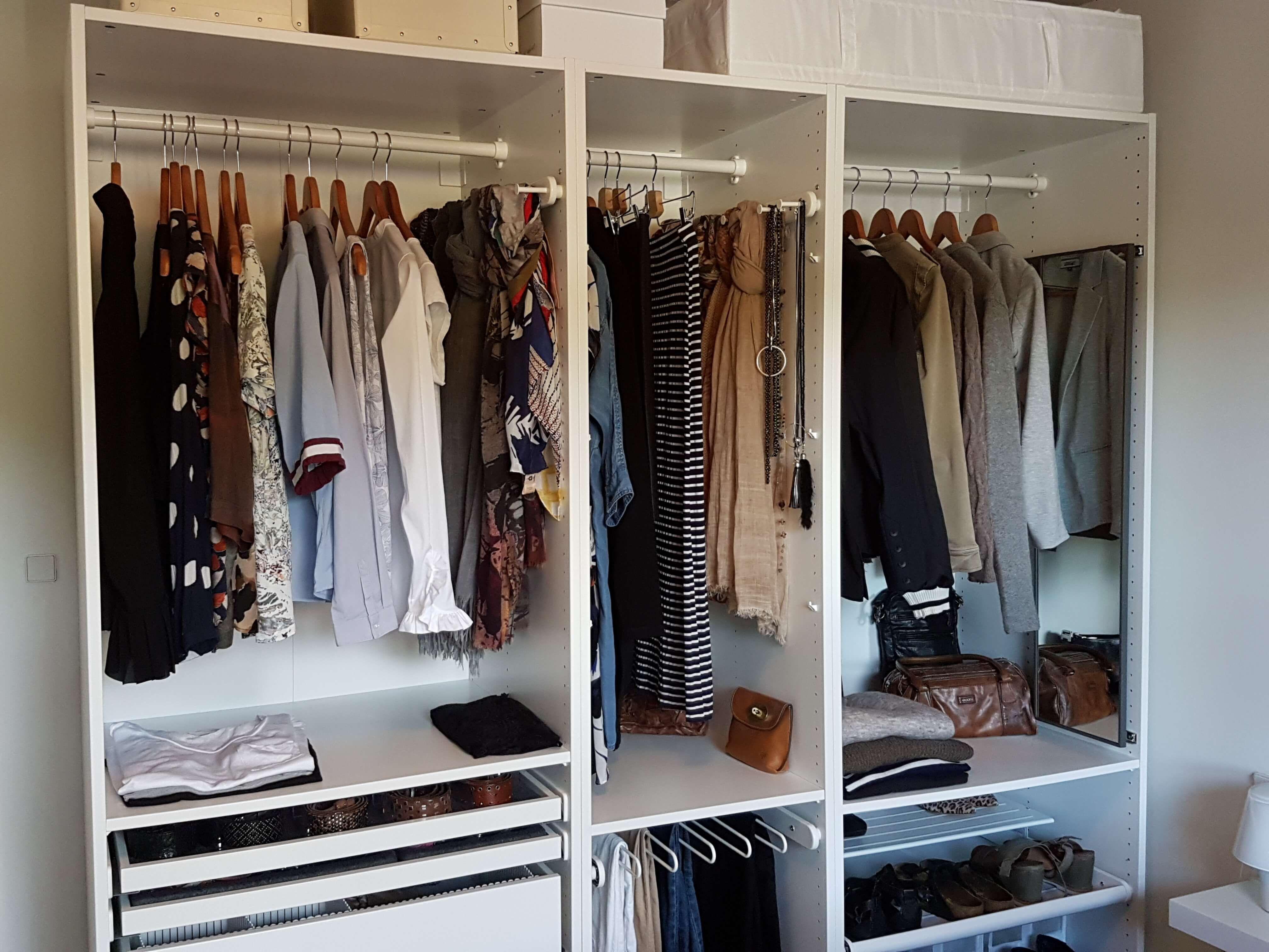Hvordan bygger man en kapsel garderobe?   betinaschou.dk ...