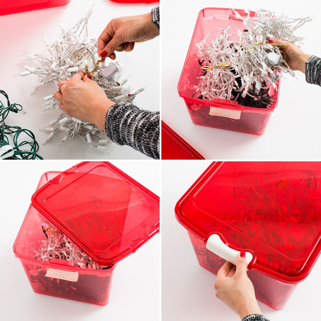 Take Time To Organize Your Holiday Decorations As You Pack