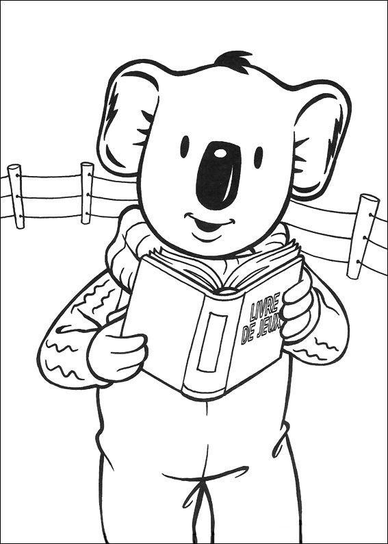Koala Brodrene Tegninger Til Farvelaegning 31