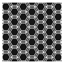 """The Crafters Workshop Mini Honeycomb 6""""x6"""" Template - TCW346s"""
