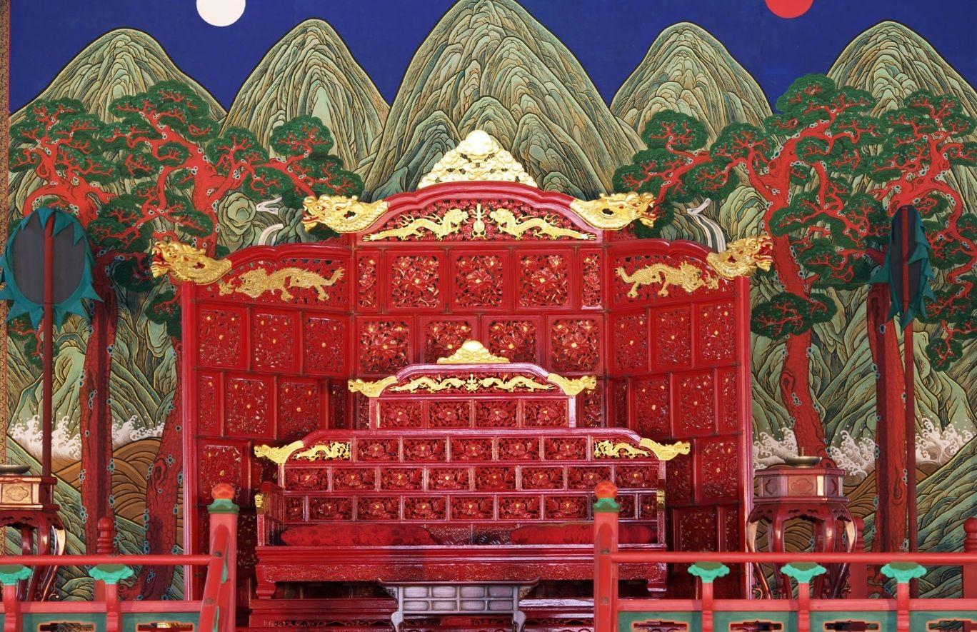 South Korea Throne Joseon Choson