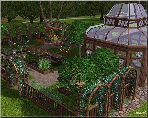 Sims 3 Garden Lot Community Sims House Design Sims 3
