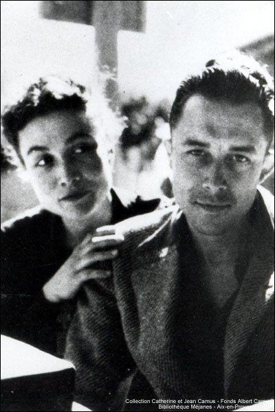 Albert Camus & Francine Faure   Albert camus, Albert, Writers and ...