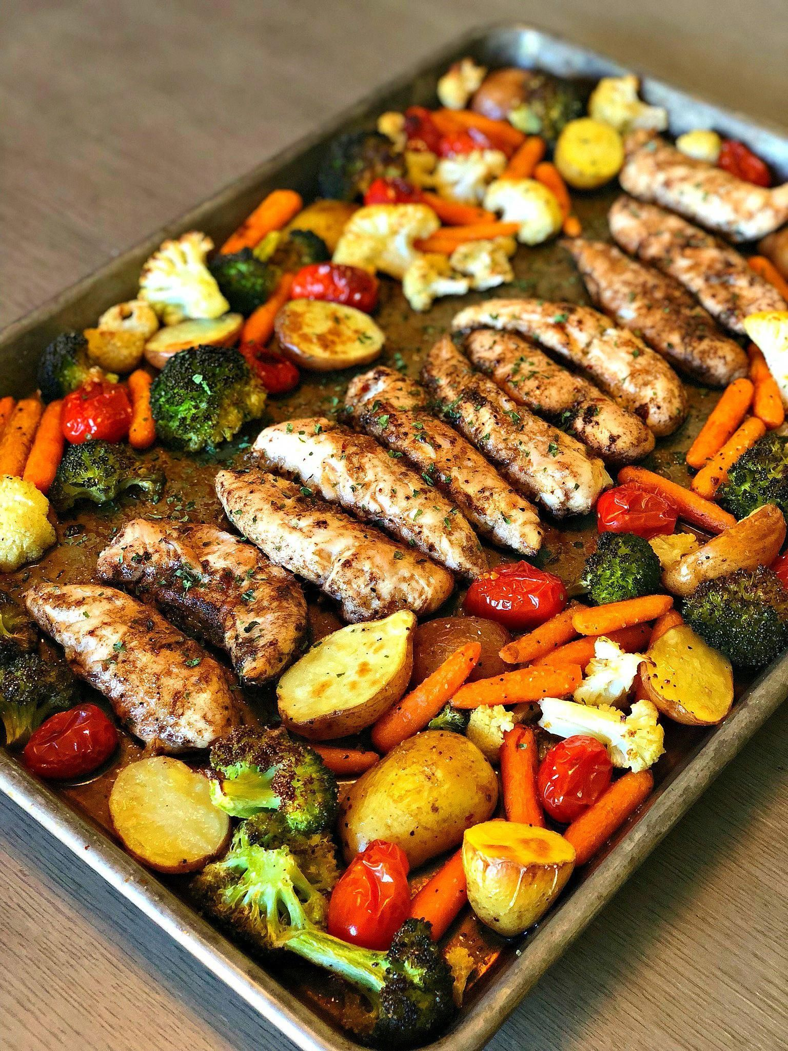 Photo of One Pan Balsamic Chicken – Lou Lou Girls