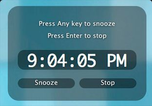 Alarm Clock 2 by Robbie Hanson - Alarm Clock for the Mac ... would work great in classroom to remind students of therapies or to remind the whole class when it's time for an assembly.  Could also use it for students to transition from one activity to another