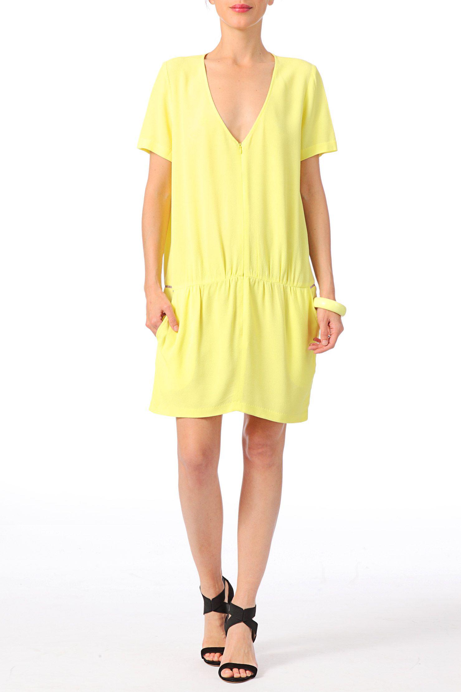 4f794137389687 Robe jaune bash – Modèles populaires de robes