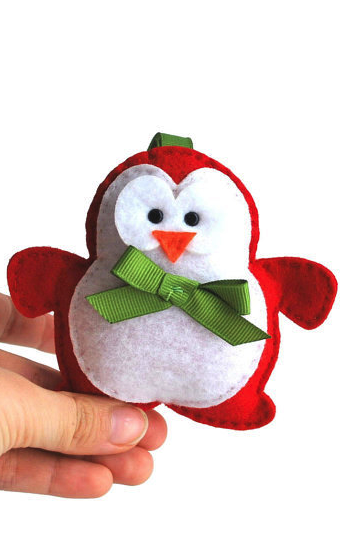 Penguin sewing pattern | I love christmas | Pinterest | Sewing ...