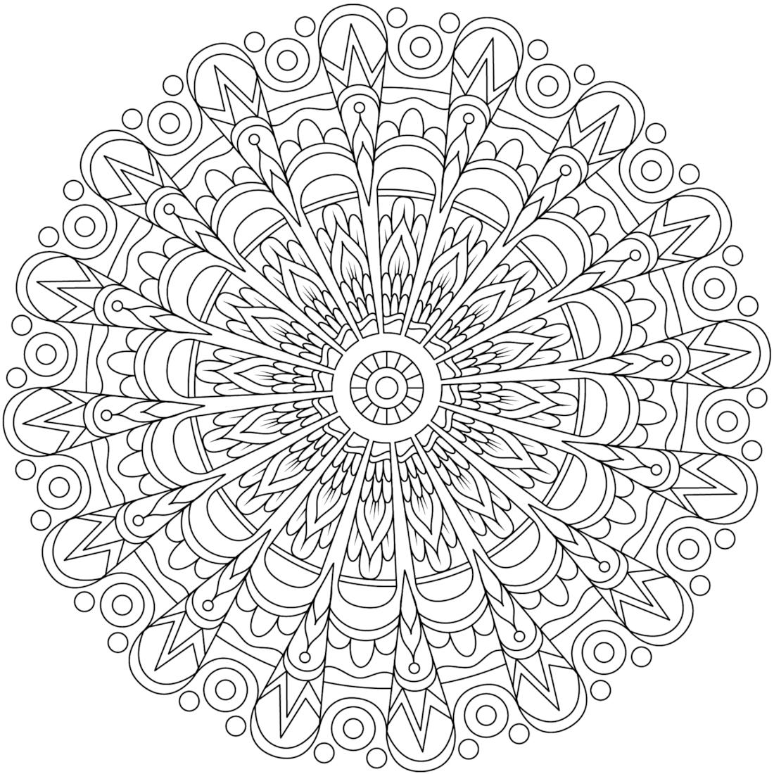 Pin de Lybby Castro en Mandalas | Pinterest | Mandalas, Colorear y ...